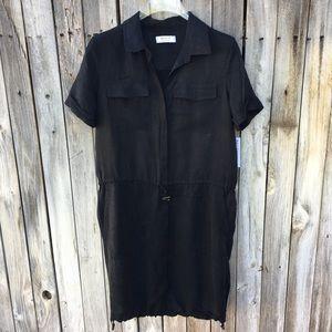 NWT Bailey 44 Shirt Dress Toggle Black M